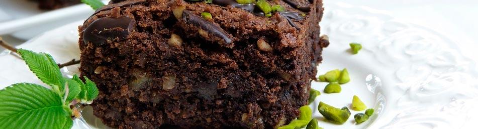Como hacer un brownie fit
